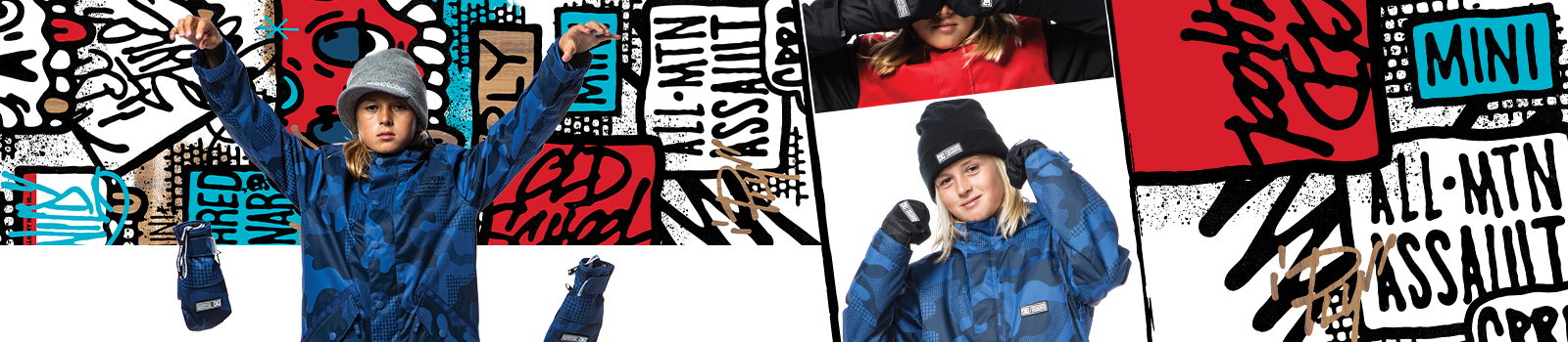 Kids Snowboard Accessories at DC Shoes